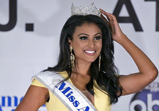 Miss American 2014 Nina Davuluri. Davuluri spoke at OSU Jan. 27 as part of an OUAB event.