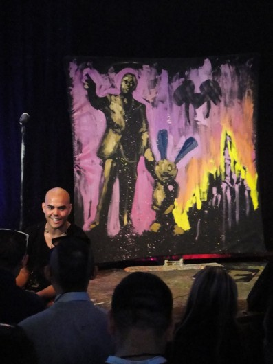 Performance painter David Garibaldi is set to perform at Ohio State March 3.  Credit: Courtesy of Doug Kline, Creative Commons License