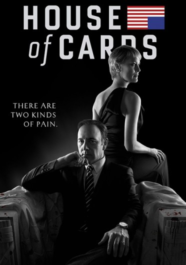 Season 2 of the Netflix original series 'House of Cards' became available Feb. 14 to subscribers.  Credit: Promotional poster for Season 2 of Netflix's 'House of Cards'