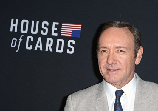 Kevin Spacey attends the special screening of 'House of Cards,' season 2 at the Director's Guild of America in Los Angeles.  Credit: Courtesy of MCT