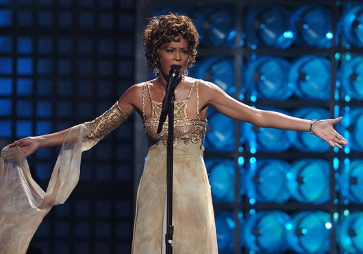 Whitney Houston sings at the 2004 World Music Awards in Las Vegas Sept. 15, 2004. The singer died in the Beverly Hilton Hotel Feb. 11, 2012 from accidental drowning.  Credit: Courtesy of MCT