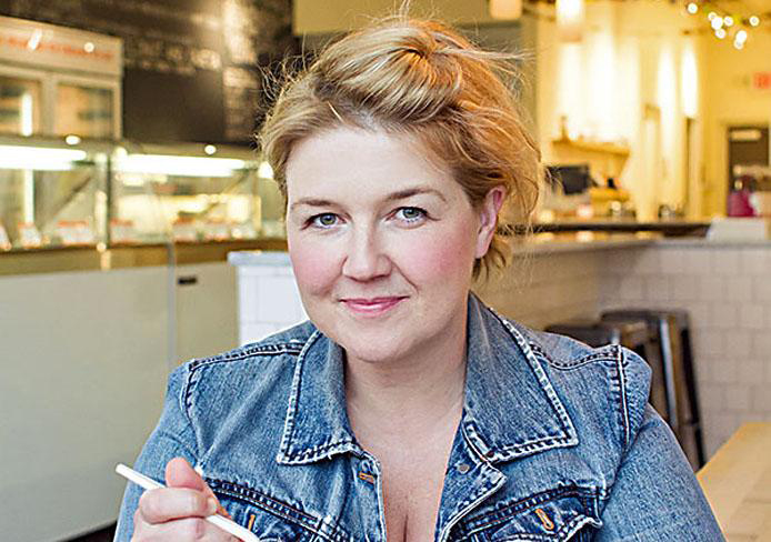 Jeni Britton Bauer, owner of Jeni's Splendid Ice Creams, which was mentioned by Forbes Travel Guide correspondent Claire Gibson in her article 'Five Secret Foodie Cities.' Credit: Lantern file photo