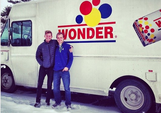 Andrew Tuchow (left) and Andy O'Brien are set to open Kinetic, a mobile kitchen aiming to offer healthy options.  Credit: Courtesy of Andrew Tuchow