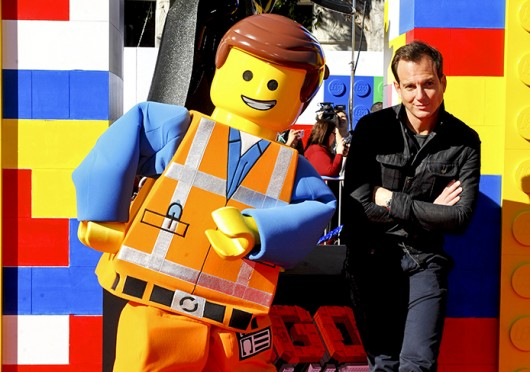Will Arnett, the voice of Batman in 'The Lego Movie,' at the movie's premiere in Los Angeles Feb. 1. Credit: Courtesy of MCT