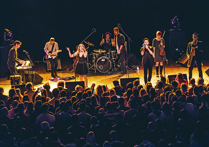 San Fermin is slated to perform at the Wexner Center Performance Space Feb. 19. Credit: Courtesy of Sara Bill