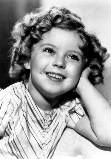 Shirley Temple Black, shown here in 1935, died Feb. 10 in her home in Woodside, Calif.  She was 85.  Credit: Courtesy of MCT