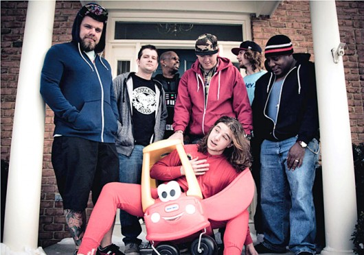 Columbus-based reggae band Shrub. Credit: Courtesy of Jay Shawberry