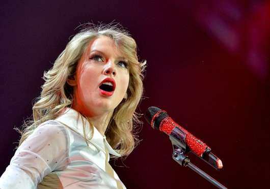 US singer Taylor Swift performs at the O2 World in Berlin Feb. 7. Credit: Courtesy of MCT