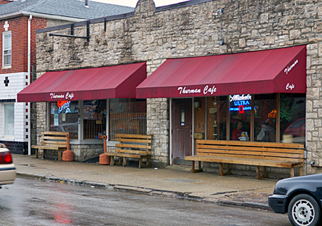 The Thurman Cafe is located at 183 Thurman Ave.  Credit: Hayden Grove / Asst. sports director at BuckeyeTV