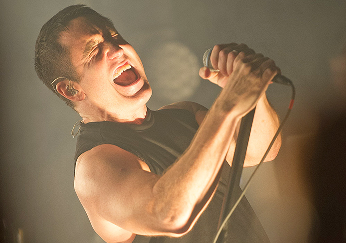 Nine Inch Nails Perform at Scala, London