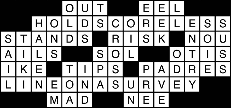 Feb. 20 crossword solutions