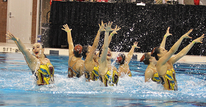 Ohio State synchronized swimming takes first at Jessica Beck Memorial Meet