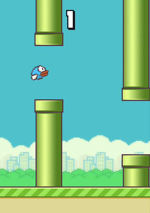 Flappy Bird is a mobile app where you navigate a bird between as many pipes as possible before you run into something. Vietnamese game creator Dong Nguyen announced Feb. 8 he was taking the game down.