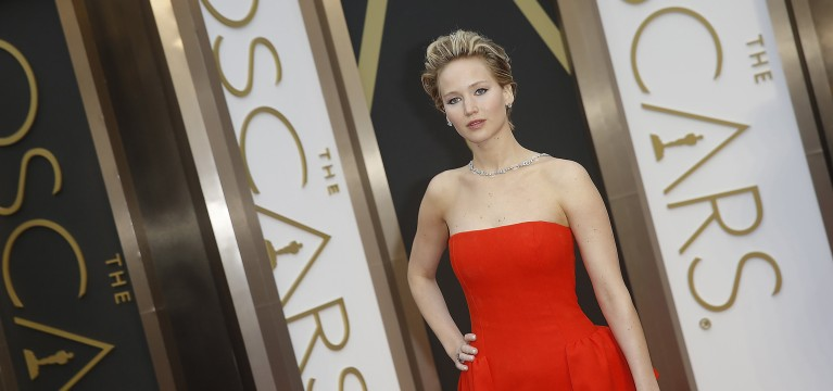 Opinion: Jennifer Lawrence falls, 1st-time winners rise at Oscars