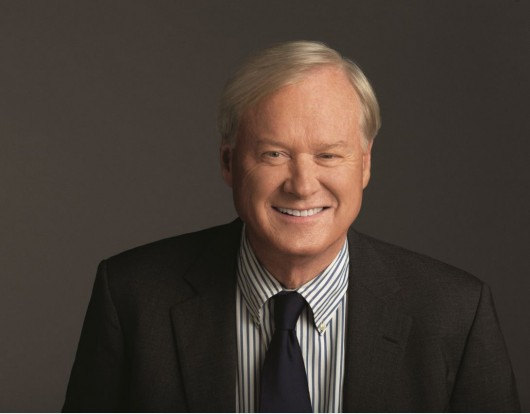"Chris Matthews, host of MSNBC political talk show ""Hardball with Chris Matthews."" Credit: Courtesy of OSU"