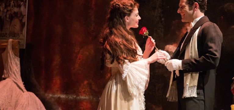 Review: Recreation of 'Phantom of the Opera' makes for great scenery, passable performance