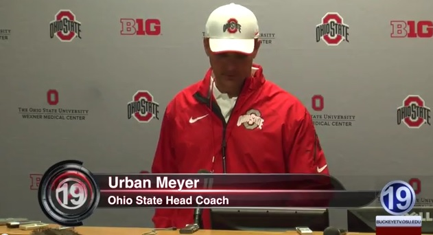 Urban Meyer Presser – March 4th, 2014