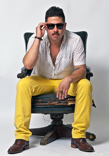Cosmo Strauss, also known by his stage name DJ Cosmo Baker, is set to perform at the Wexner Center's Off the Grid art party March 8.  Credit: Courtesy of Dan Raff