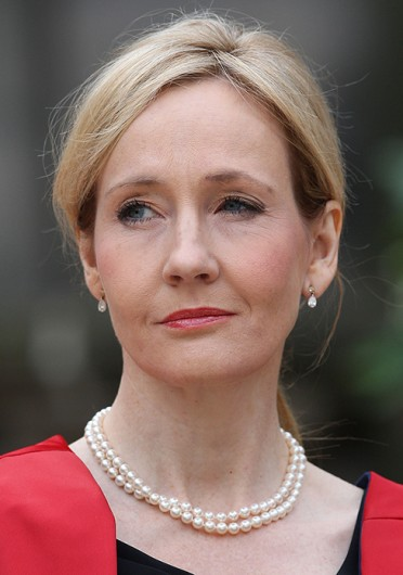 Author J.K. Rowling before being awarded a Benefactors Award by Edinburgh University in Edinburgh, UK, Sept. 26, 2011.  Credit: Courtesy of MCT