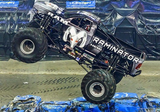 The Raminator is set to be featured in the Lucas Oil Monster Truck Nationals March 29 at the Schottenstein Center.  Credit: Courtesy of Michael Glaskin-Clay