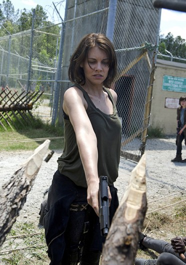 Lauren Cohan plays Maggie Greene in hit AMC series 'The Walking Dead.' Credit: Courtesy of MCT