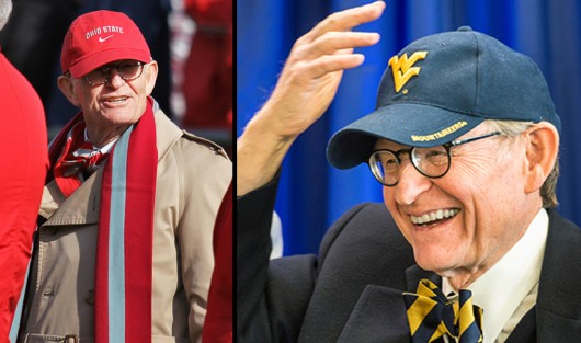 E. Gordon Gee was president of OSU from 1990-07 and from 2007 to July 1, when he retired. E. Gordon Gee was president of WVU from 1981-85 and is slated to be president of the university again. Credit: Shelby Lum / Photo editor and courtesy of WVU