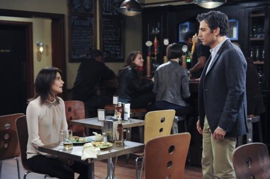 Josh Radnor as Ted (left) and Cobie Smulders as Robin on CBS' 'How I Met Your Mother.' Credit: Courtesy of MCT