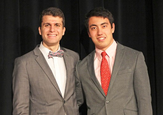 Mohamad Mohamad (left) and Sean Crowe are running for OSU USG president and vice president, respectively. Credit: Ritika Shah / Asst. photo editor