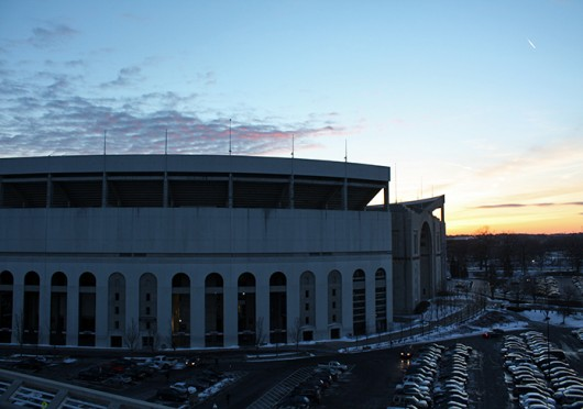 Tours of Ohio Stadium are offered through the Department of Athletics year-round, and the average tour lasts an hour and half. Credit: Sam Harrington / Lantern photographer