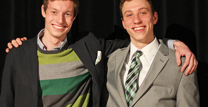 Ohio State USG candidates 2014: Vytas Aukstuolis and Nick Macek
