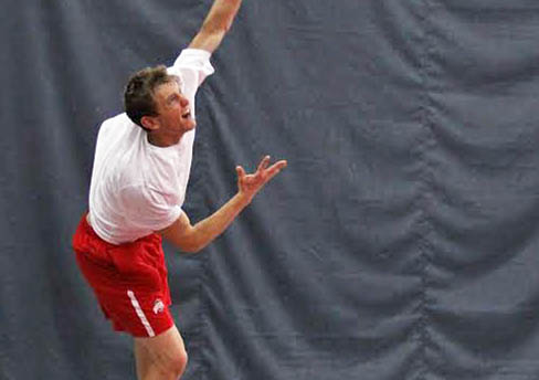 Ohio State men's tennis ties NCAA record with 184th consecutive home victory, beats Michigan, 6-1