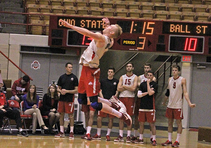 Ohio State men's volleyball takes 2 against conference ...