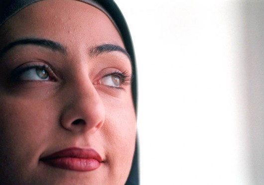 Alya Kazak, 21, of Bloomfield Hills, Mich., said her decision to wear a hijab, a scarf that identifies her as Muslim, is 'the most positive decision I have made.' Credit: Courtesy of MCT