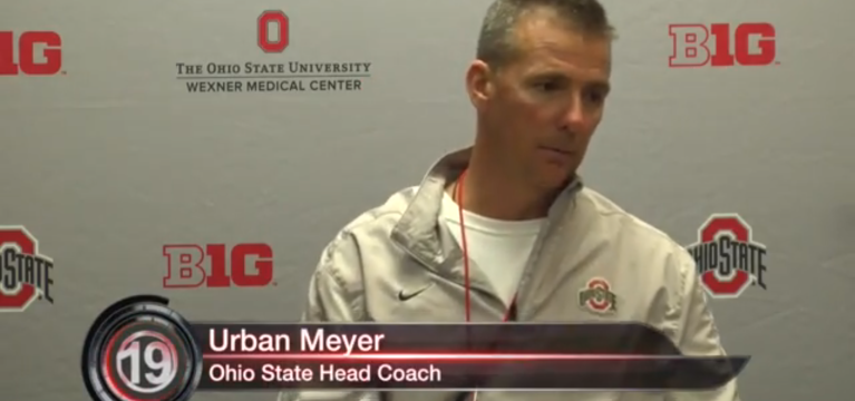 Urban Meyer Spring Press Conference- 4/9