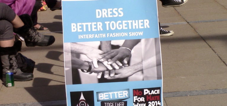 VIDEO: No Place For Hate Week 2014 presents 'Dress Better Together' fashion show