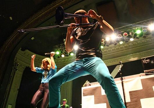 Karmin performs at Newport Music Hall April 19.  Credit: Mark Batke / For The Lantern