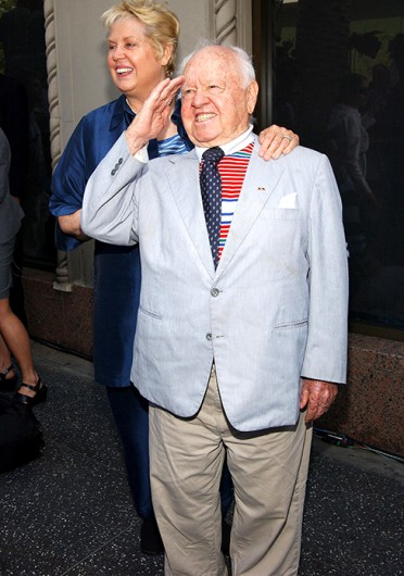 Actor Mickey Rooney died of natural causes April 6 in his Hollywood home. Credit: Courtesy of MCT
