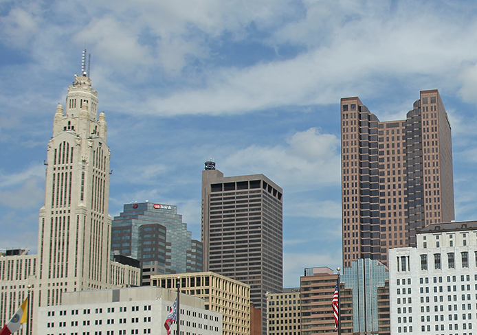 Columbus placed a bid for the Democratic National Convention in 2016. Credit: Shelby Lum / Photo editor