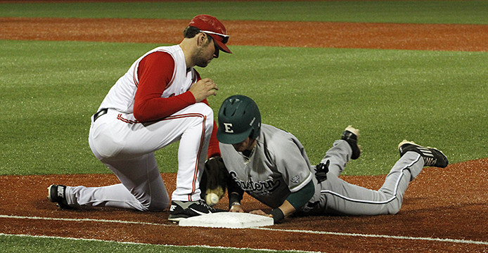 Ohio State baseball downs Eastern Michigan, 8-1