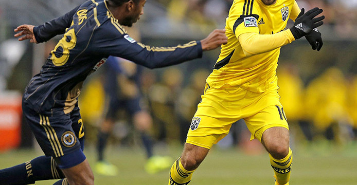 Late man-down goal gives Columbus Crew 1-1 draw against D.C. United