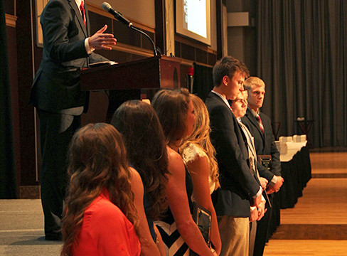 511 Ohio State student-athletes honored at annual Scholar-Athlete Dinner