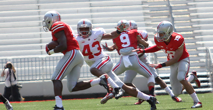 Ohio State football looking for confidence from young linebackers