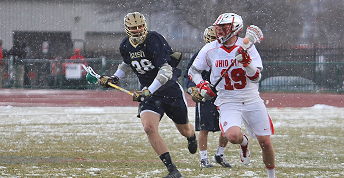 Ohio State men's lacrosse looking to build off first road victory against archrival Michigan