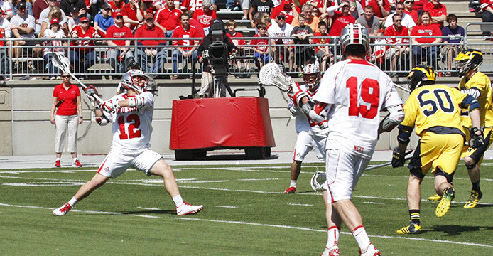 Ohio State men's lacrosse preparing for high-flying game against Air Force
