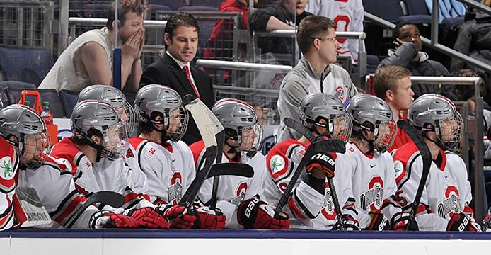 Ohio State men's hockey coach Steve Rohlik reflects on 1st year