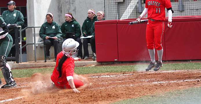 Ohio State softball uses late comeback to earn midweek sweep against Ohio