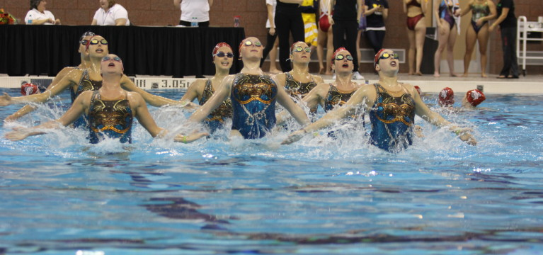 Ohio State synchronized swimming team wins 2014 US National Championship