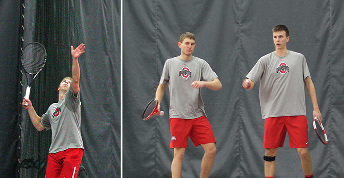 Ohio-raised tennis players putting stamp on Ohio State men's tennis