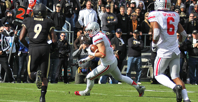 Nick Vannett thriving at Ohio State spring practice in injured Jeff Heuerman's absence