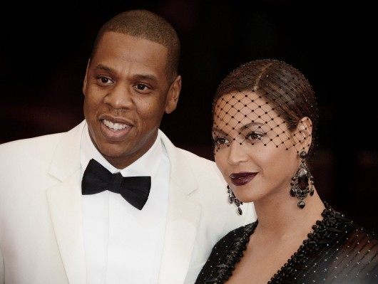 Jay Z and Beyoncé arriving at the Costume Institute Benefit Met Gala celebrating the opening of the Charles James, Beyond Fashion Exhibition and the new Anna Wintour Costume Center in New York May 5. Credit: Courtesy of MCT